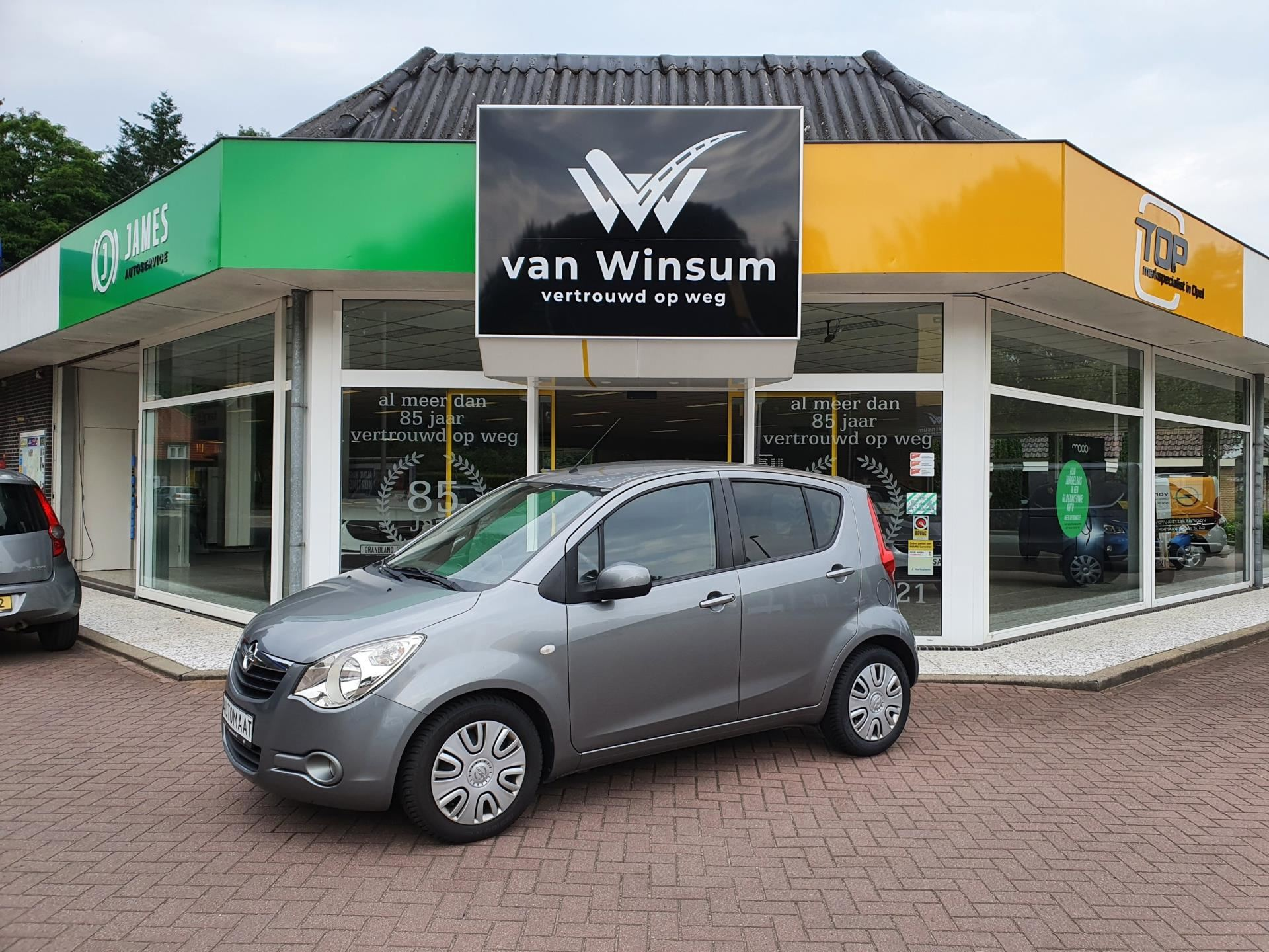 Opel Agila occasion - Autobedrijf G. Van Winsum B.V.