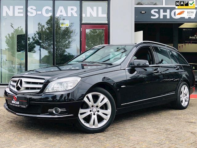 Mercedes-Benz C-klasse Estate 200 Kompressor 6-Bak, Leder, Stoelverw, NIEUWSTAAT!!