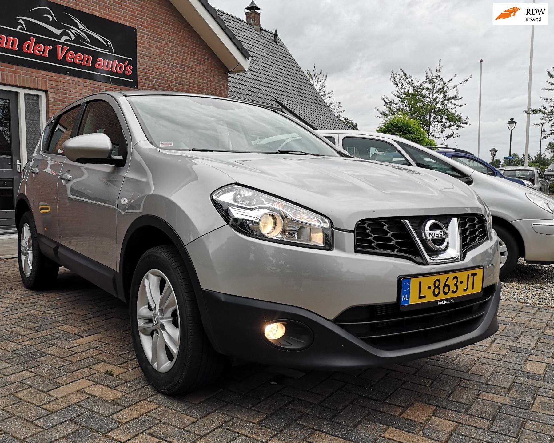 Nissan Qashqai occasion - van der Veen auto's