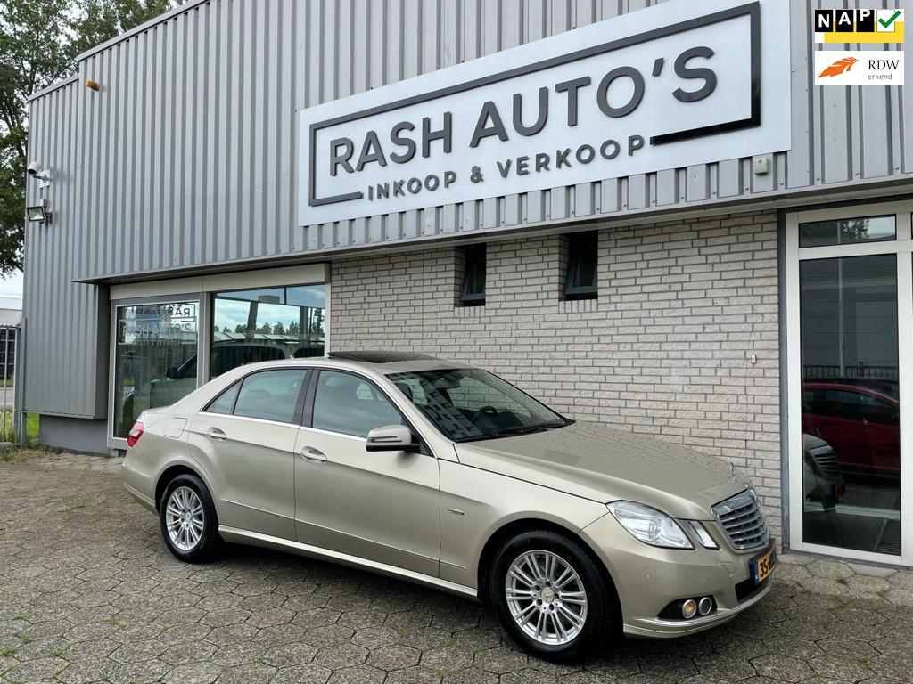 Mercedes-Benz E-klasse occasion - RASH AUTO'S