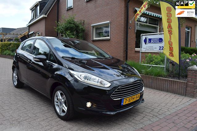 Ford Fiesta 1.0 EcoBoost Titanium/125pk!/5DRS/AUTOMAAT/CRUISE/NAVI/AIRCO/PDC/LM 15 INCH