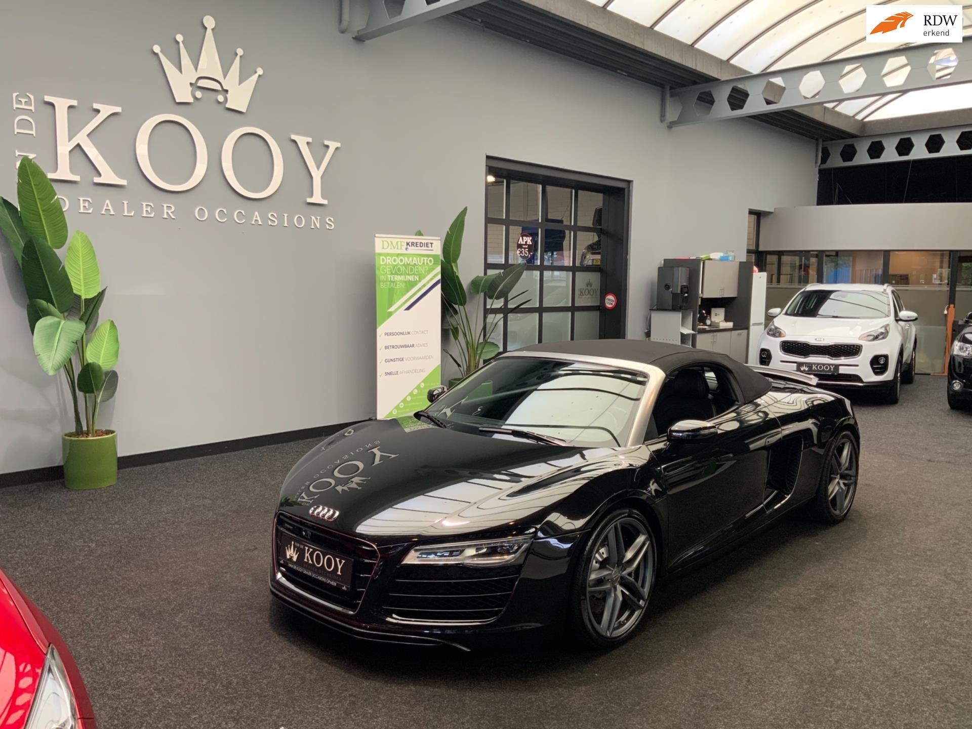 Audi R8 occasion - Van De Kooy Dealer Occasions Opmeer