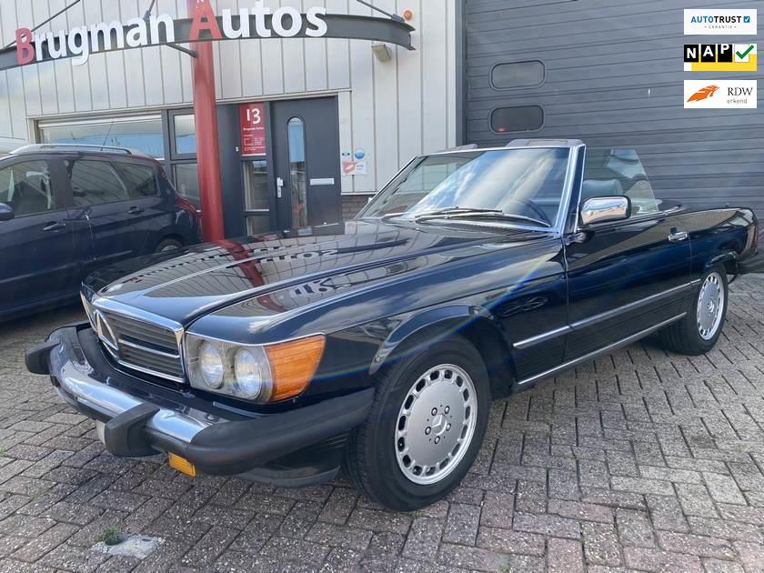 Mercedes-Benz SL-klasse occasion - Brugman Auto's