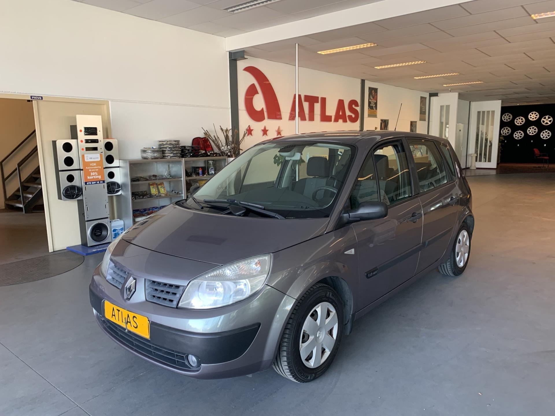 Renault Scenic occasion - Atlas Garagebedrijf