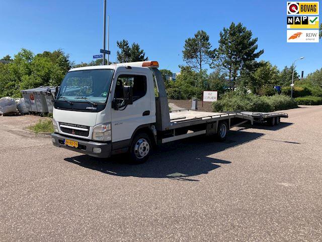 Mitsubishi Canter  oprijwagen. autotransport EX. btw