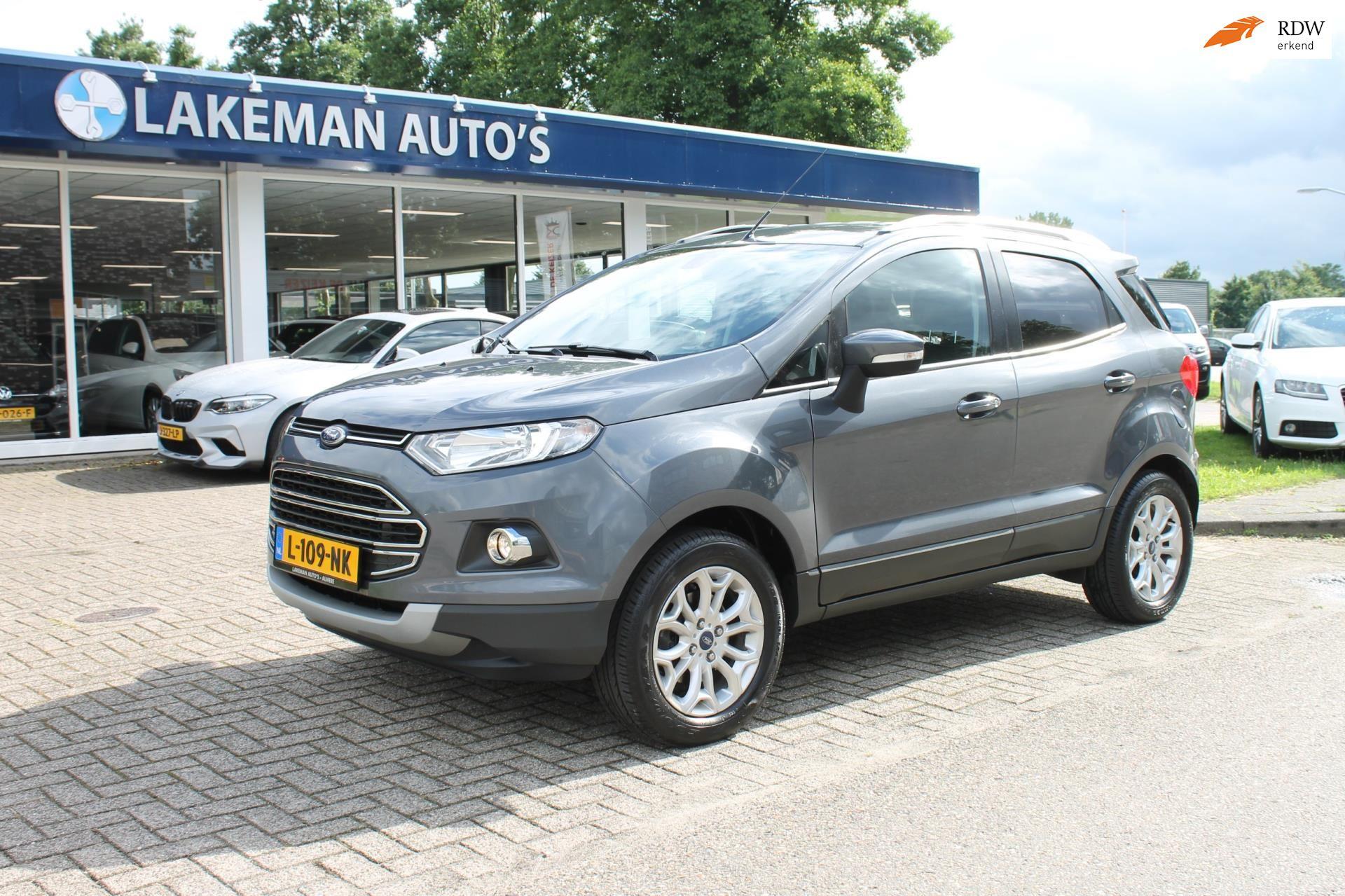 Ford EcoSport occasion - Lakeman auto's Almere B.V.