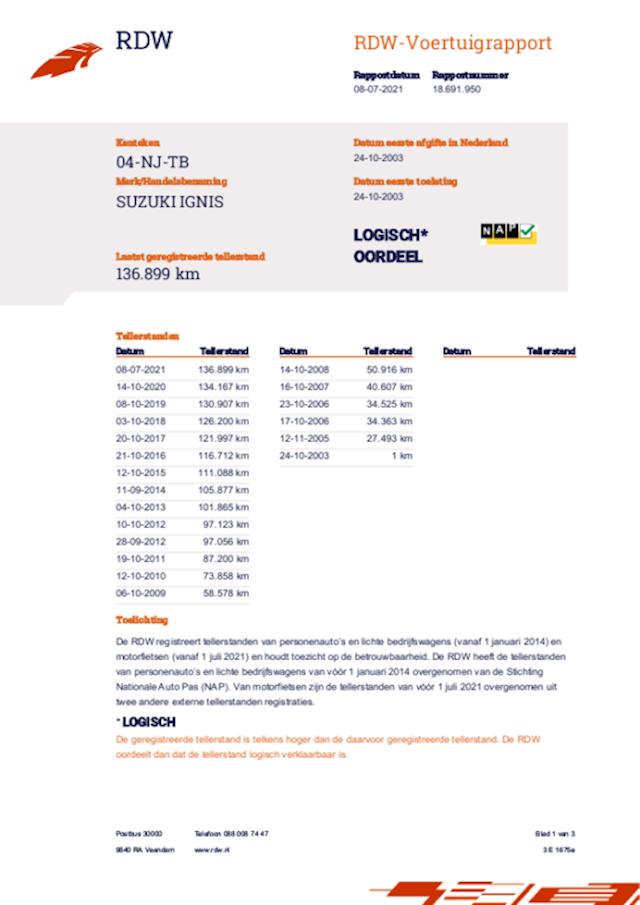 Suzuki Ignis 1.3-16V GLS airco 136 dkm nap nwe apk nette auto