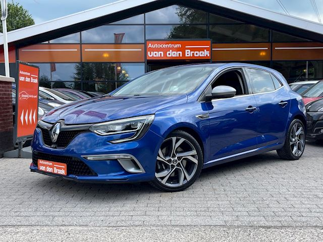 Renault Mégane 1.6 TCE GT 205PK Automaat Navi Xenon/Led Head-Up Display Keyless Go Climate Cruise Ctr Full Options
