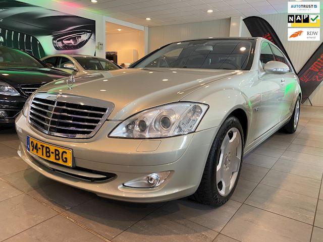 Mercedes-Benz S-klasse 600 Lang Designo. 2006. Panorama dak. Nightvision. Youngtimer. Dealer auto. Zeldzaam.Alle denkbare opties!
