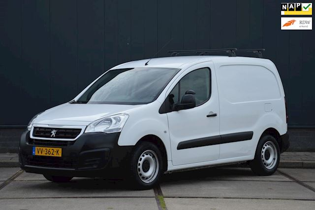 Peugeot Partner 120 1.6 BlueHDi 75PK Airco Schuifdeur Euro 6