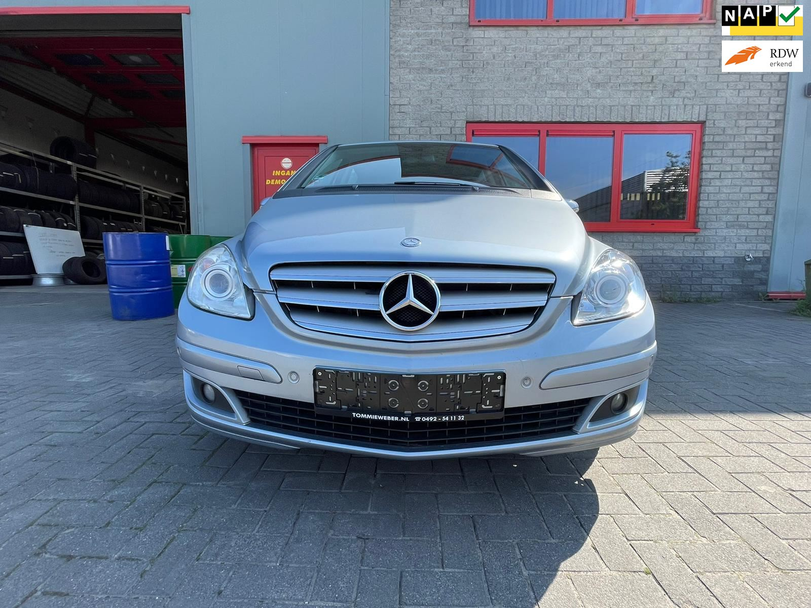 Mercedes-Benz B-klasse occasion - Autobedrijf Tommie Weber & zn.