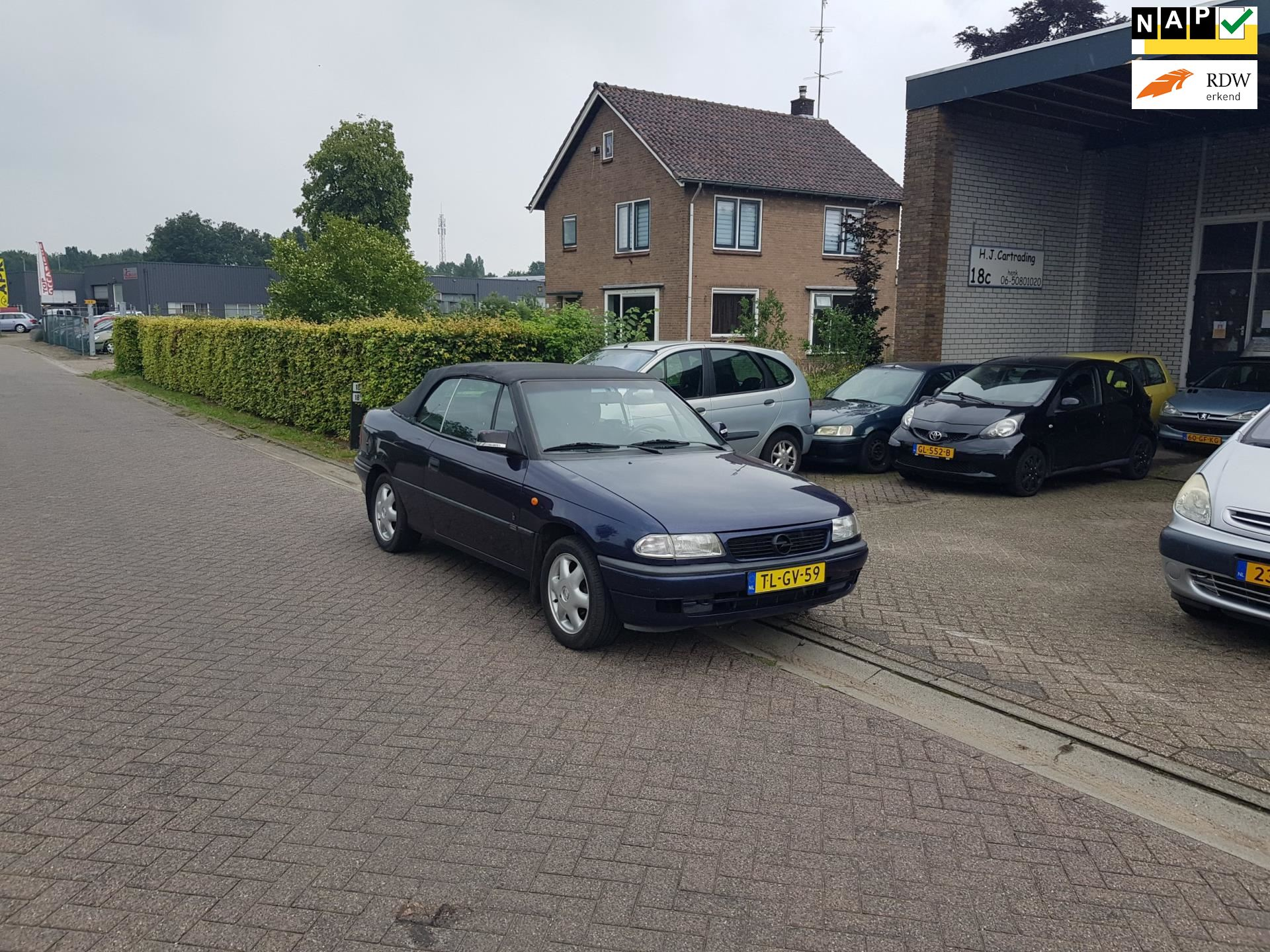 Opel Astra Cabriolet occasion - H.J. Cartrading