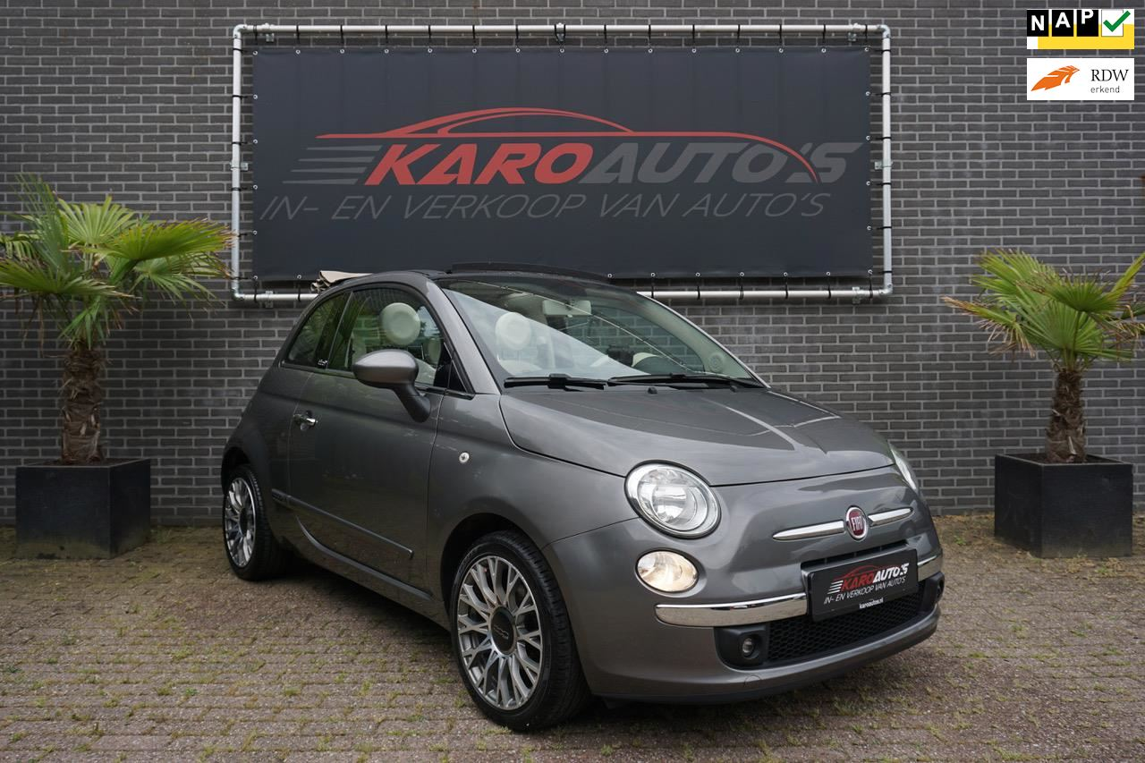Fiat 500 C occasion - KARO Auto's