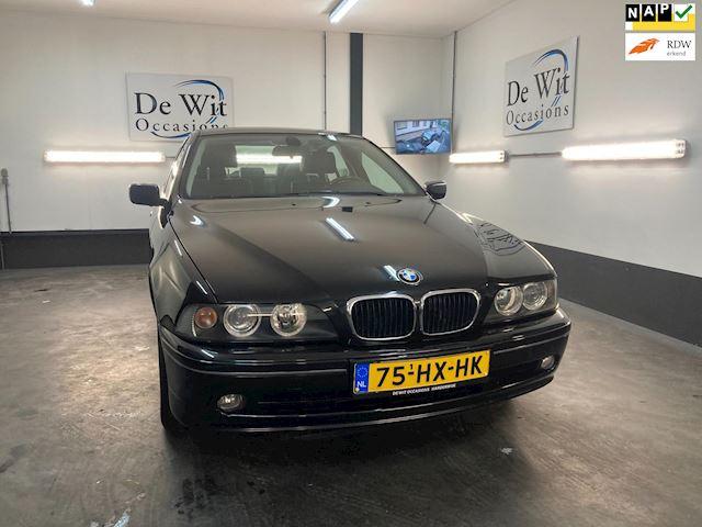 BMW 5-serie 520i Special Executive AUT. UNIEK van 1e EIG.!! MOOIE ORG. YOUNGTIMER incl. NWE APK/GARANTIE.