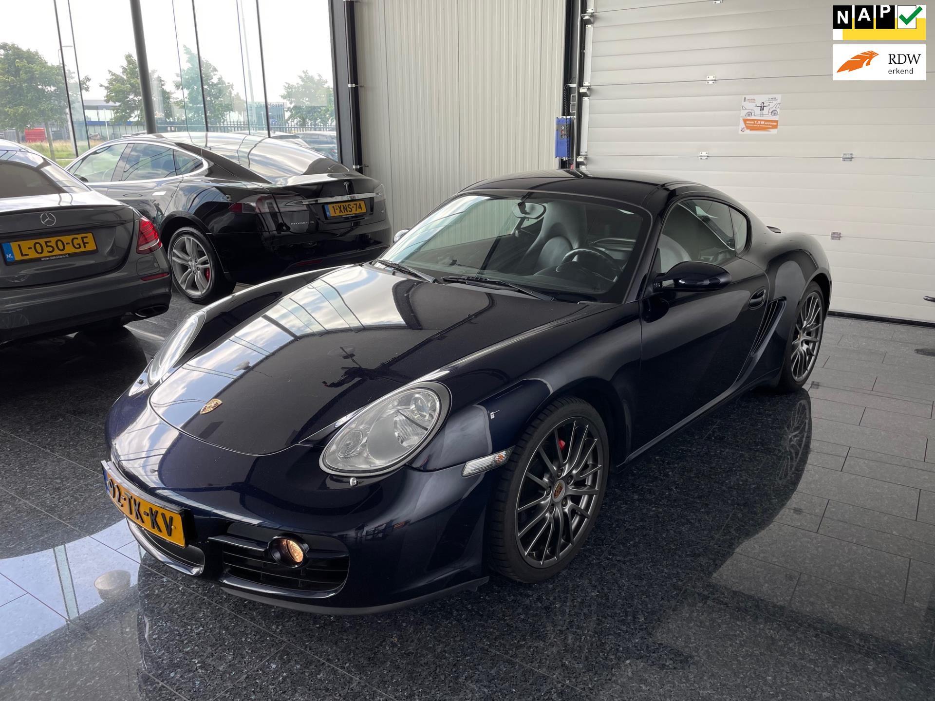 Porsche Cayman occasion - Sako Cars
