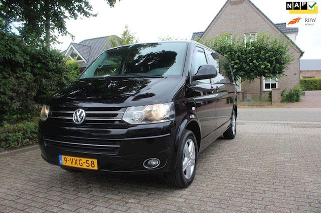 Volkswagen Transporter 180 PK LANG , DSG , dubb cab , Autom Nieuw Staat en perfect onderhouden 2.0 TDI L2H1 DC Comfortline