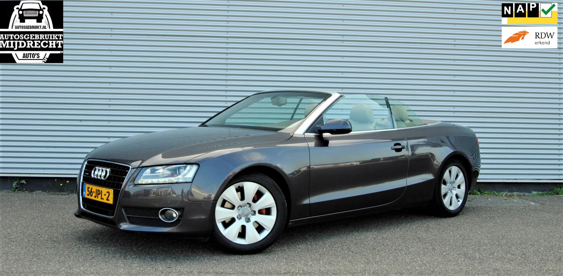 Audi A5 Cabriolet occasion - Autosgebruikt Mijdrecht