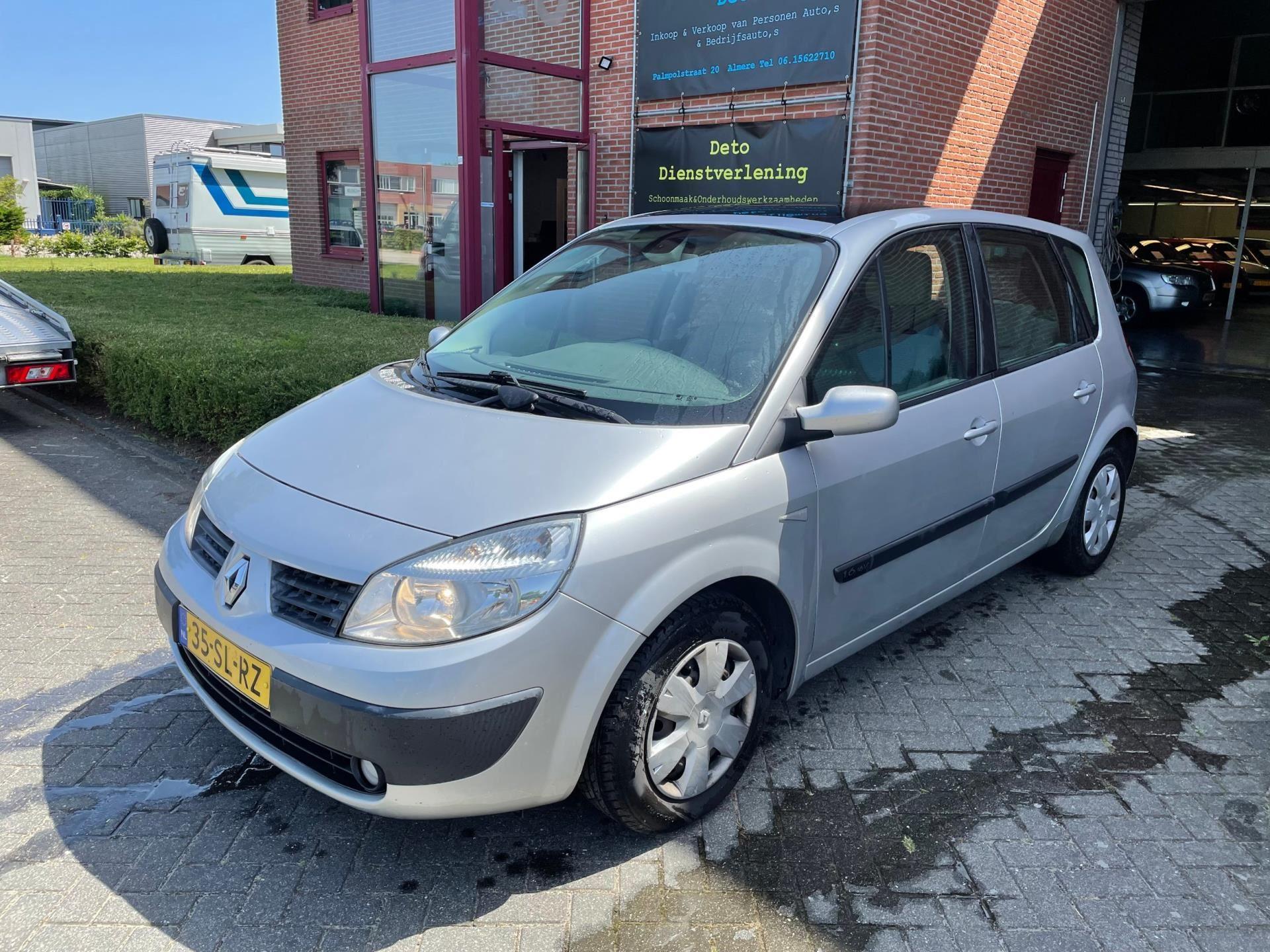 Renault Scénic occasion - Handelsonderneming Deto