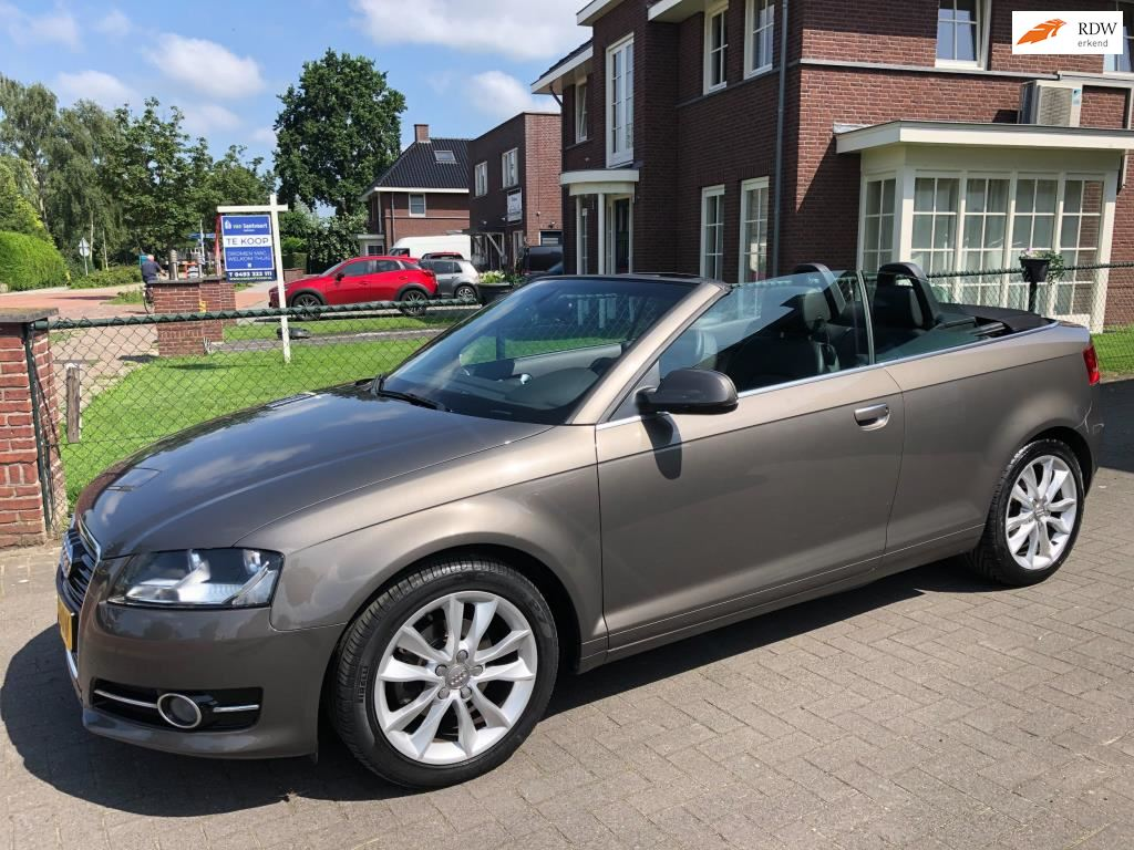 Audi A3 Cabriolet occasion - Handelsonderneming Toine Boers