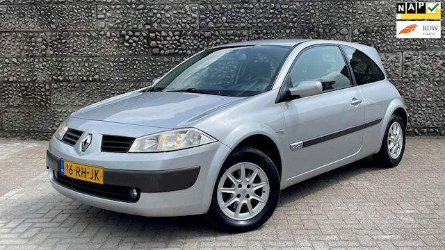 Renault Mégane 2.0-16V AUT 2005 Grijs LEDER*CLIMA*APK 2022