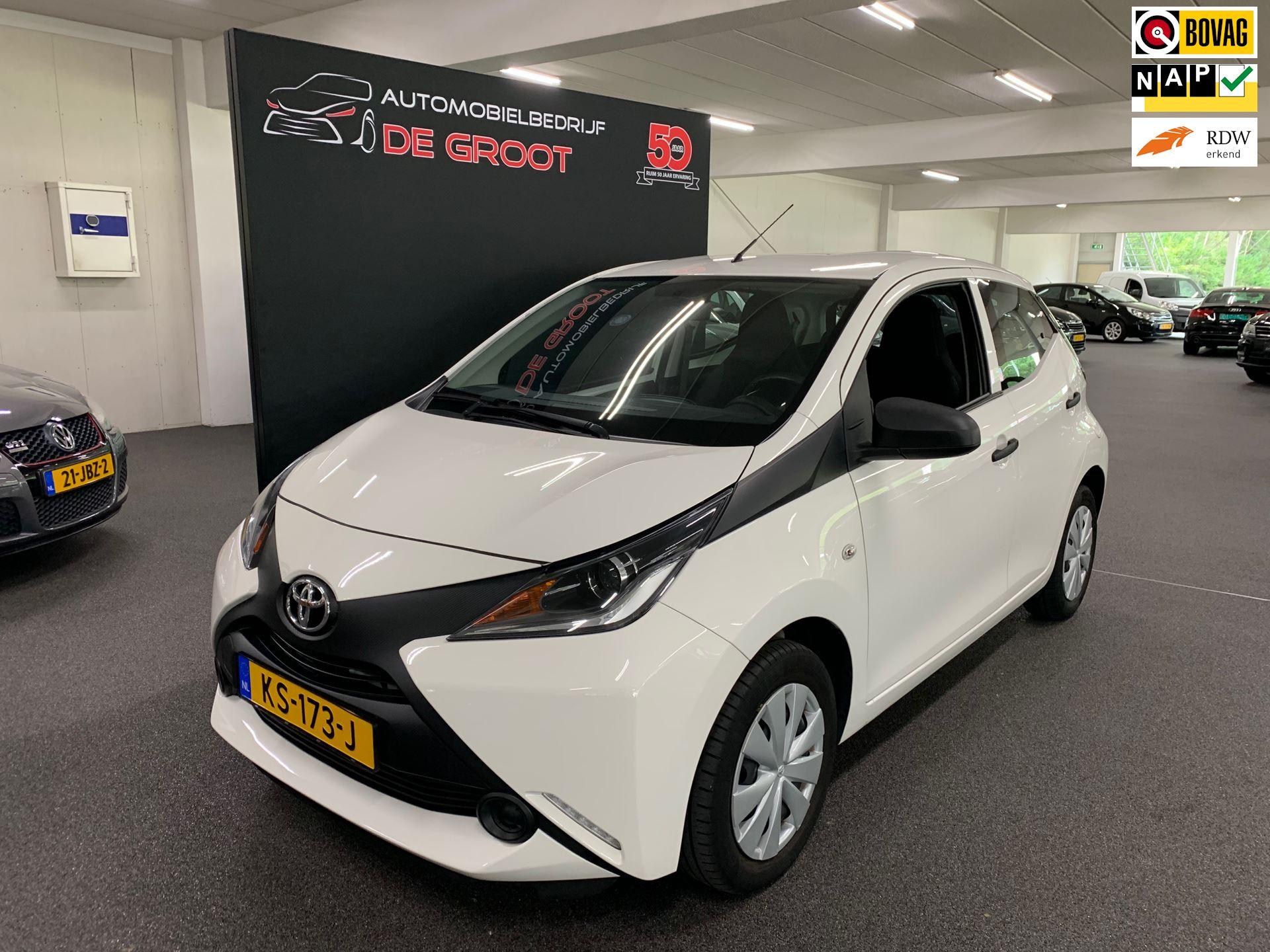 Toyota Aygo occasion - Automobielbedrijf de Groot