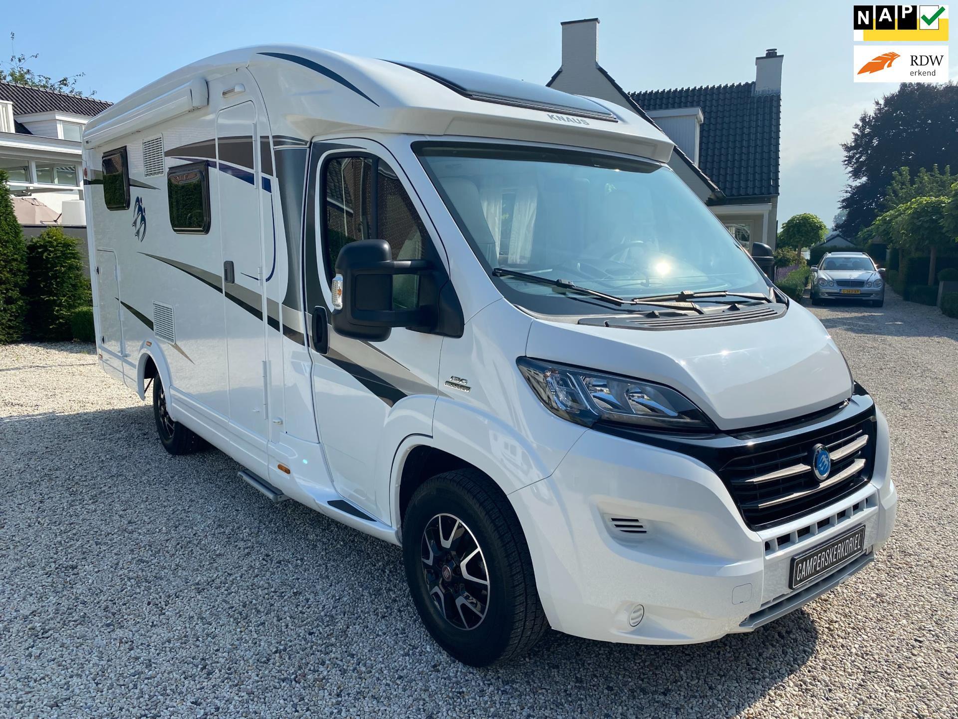 Knaus Van TI 600 MEG Lengte-bedden Garage occasion - Campers Kerkdriel