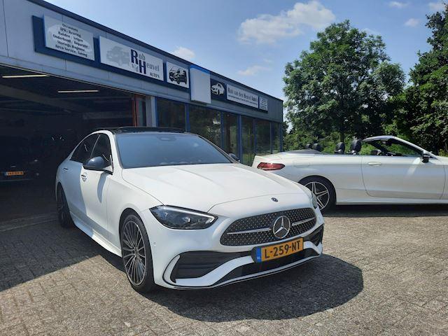 Mercedes-Benz C-klasse 200 AMG launch edition /panoramadak