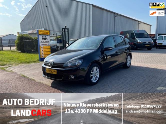 Volkswagen Golf occasion - Land Cars Middelburg