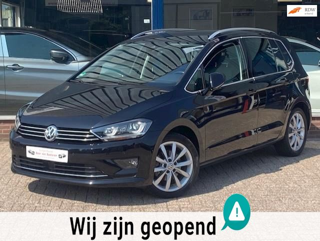 Volkswagen Golf Sportsvan 1.4TSI Highline DSG7 125PK! Navi pro/Camera/Alcantara/Lane-Front assist/Xenon/F1! 1e eigenaar/Dealer OH!
