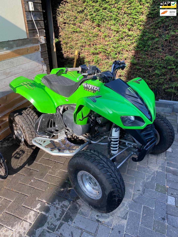 Kawasaki Quad occasion - Handelsonderneming Visser