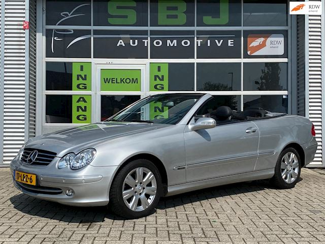 Mercedes-Benz CLK-klasse Cabrio 200 K. Elegance|CRUISE|NAVI|CABRIO|AIRCO|BLUETOOTH|STOELVERW.|