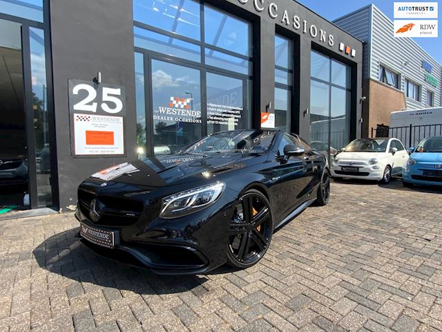 Mercedes-Benz S-klasse Cabrio 63 AMG 4Matic BRABUS VELGEN DESIGNO UITGEVOERD SWAROVSKI KOPLAMPEN CARBON VOL OPTION 3/12M GARANTIE