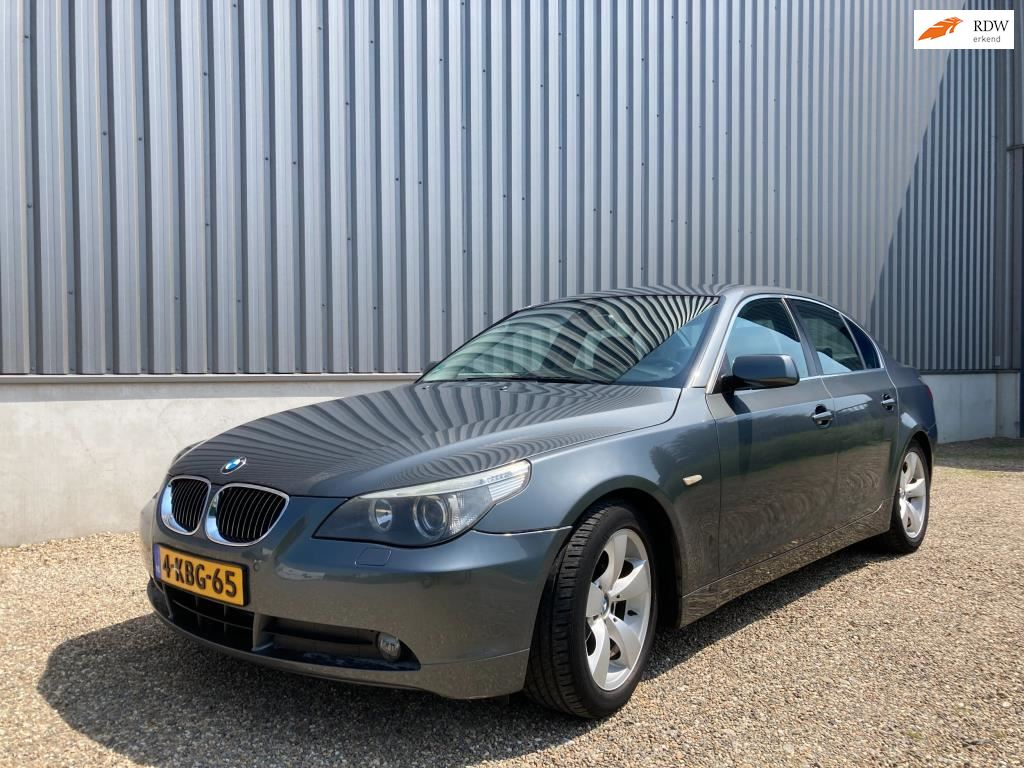 BMW 5-serie occasion - Deckers Trading Limburg