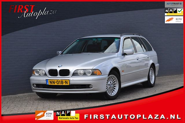 BMW 5-serie Touring 530d AUTOMAAT AIRCO/LEDER YOUNGTIMER !