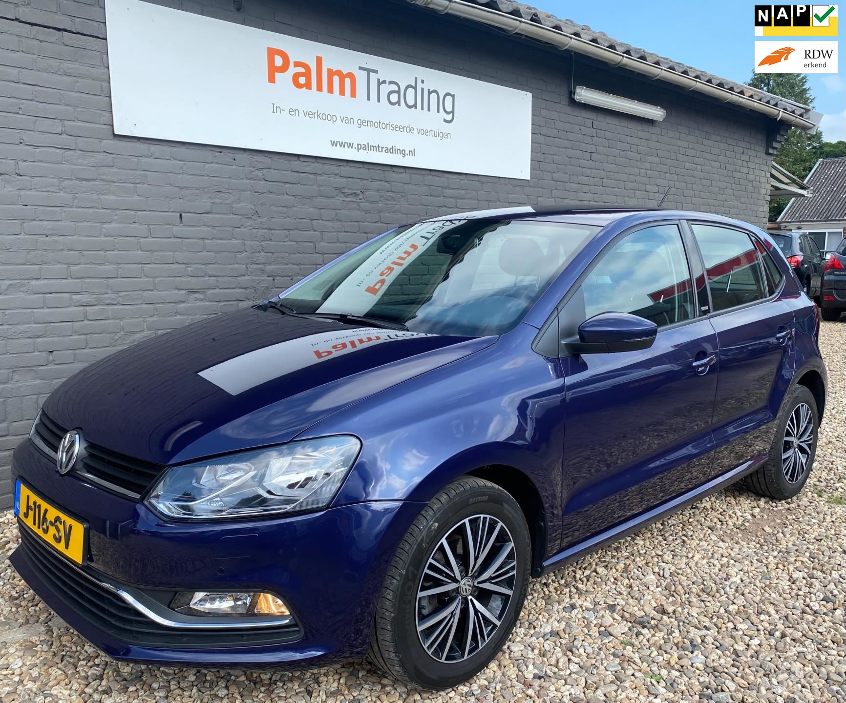 Volkswagen Polo occasion - Palm Trading