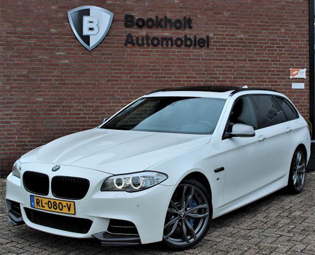 BMW 5-serie Touring M550xd Pano, HUD, Nieuwe EGR met garantie!