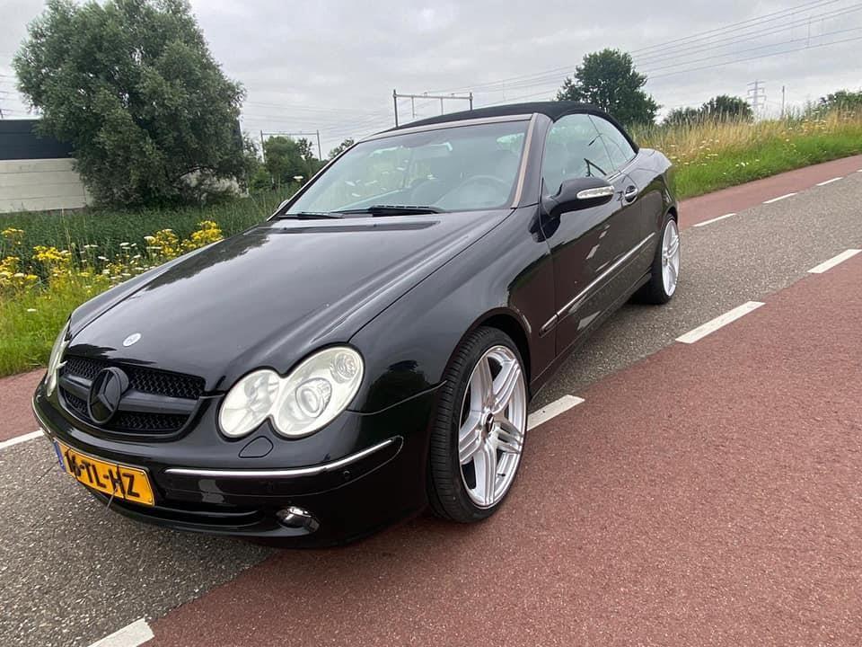 Mercedes-Benz CLK-klasse Cabrio occasion - Gelderland Cars B.V.Zutphen