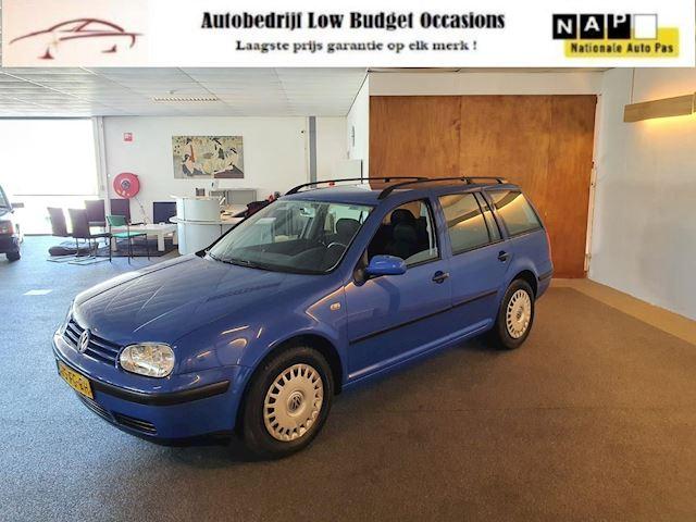 Volkswagen Golf Variant 2.0 Trendline,Apk Nieuw,1e Eigenaar uniek,Airco,N.A.P,Trekhaak,2 sleutels & boekjes Topstaat!!