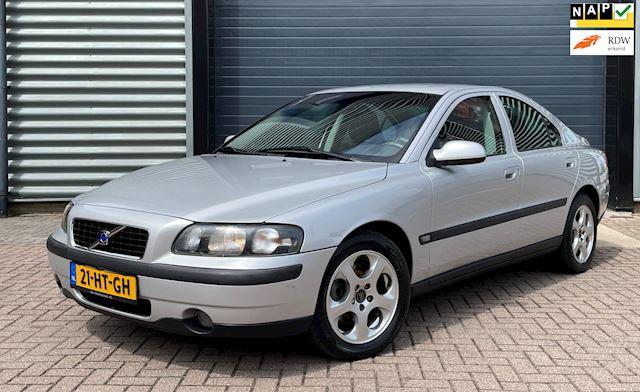 Volvo S60 2.4 140PK 2001 Grijs NAP*APK 2022*LEDER*TREKHAAK