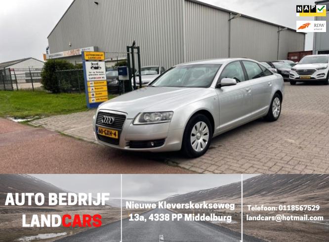 Audi A6 occasion - Land Cars Middelburg