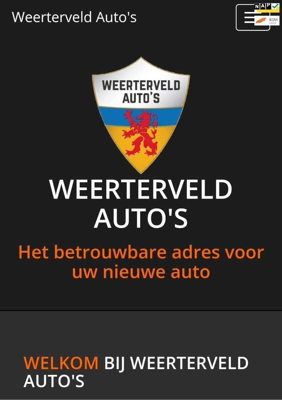 Onbekend WEERTERVELD AUTOS occasion - Weerterveld Auto's