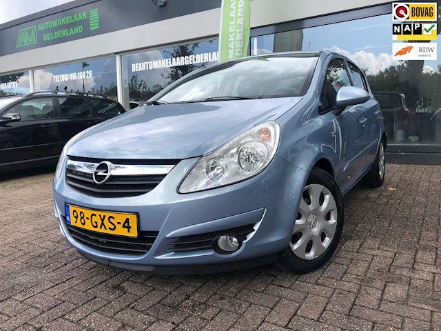 Opel Corsa 1.4-16V Enjoy 1e EigenaarNw Apk/Cruise/Navi/Airco