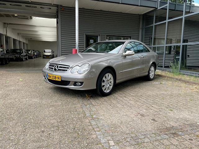 Mercedes-Benz CLK-klasse Coupé 200 K. Elegance (Nieuwstaat, Pano, Leder, Volledige Onderhoudhistorie aanwezig)