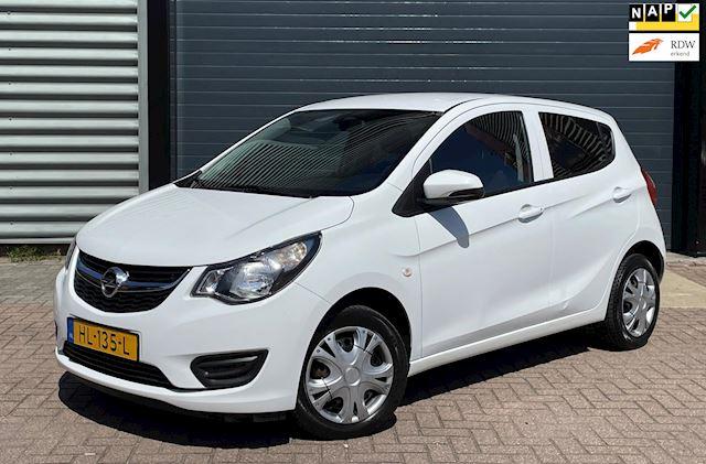 Opel KARL 1.0 ecoFLEX 55KW 2015 Wit AIRCO*CRUISE*NAP*APK 2023