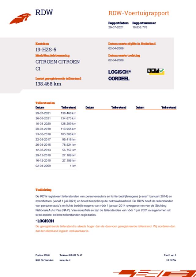 Citroen C1 1.0-12V Séduction bj 2009  2350 euro