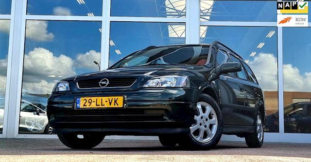 Opel Astra Wagon 1.6i 8V Njoy IJskoude Airco Rijdt en schakelt super goed!!