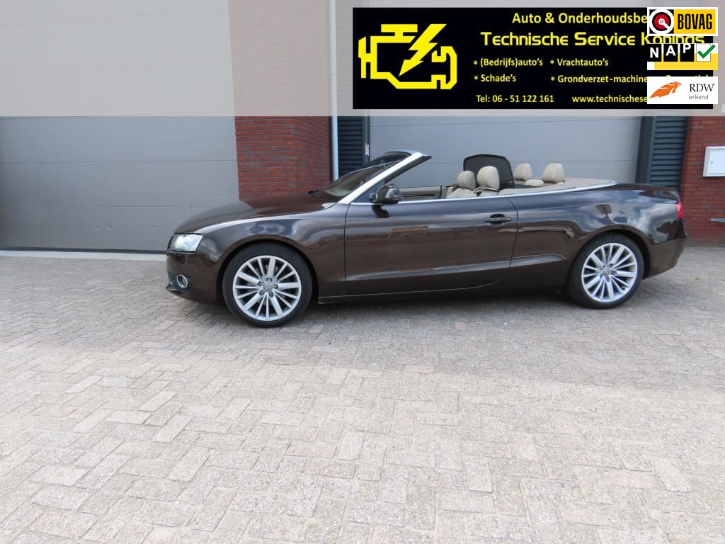Audi A5 Cabriolet occasion - Autobedrijf Konings