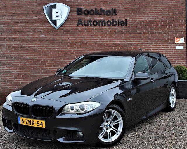 BMW 5-serie Touring 528i M-sport, Panoramadak, Nwe distributieketting twv EUR 1400,-, BMW-dealer onderhouden
