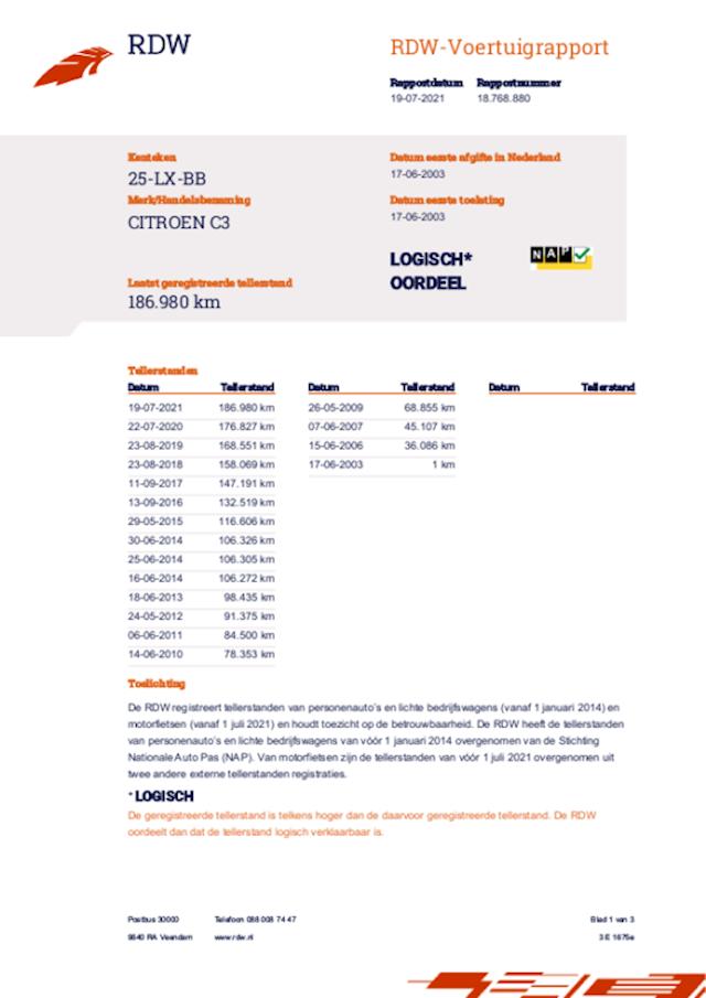Citroen C3 1.1i Ligne Prestige 5 Drs met Nieuwe Apk !