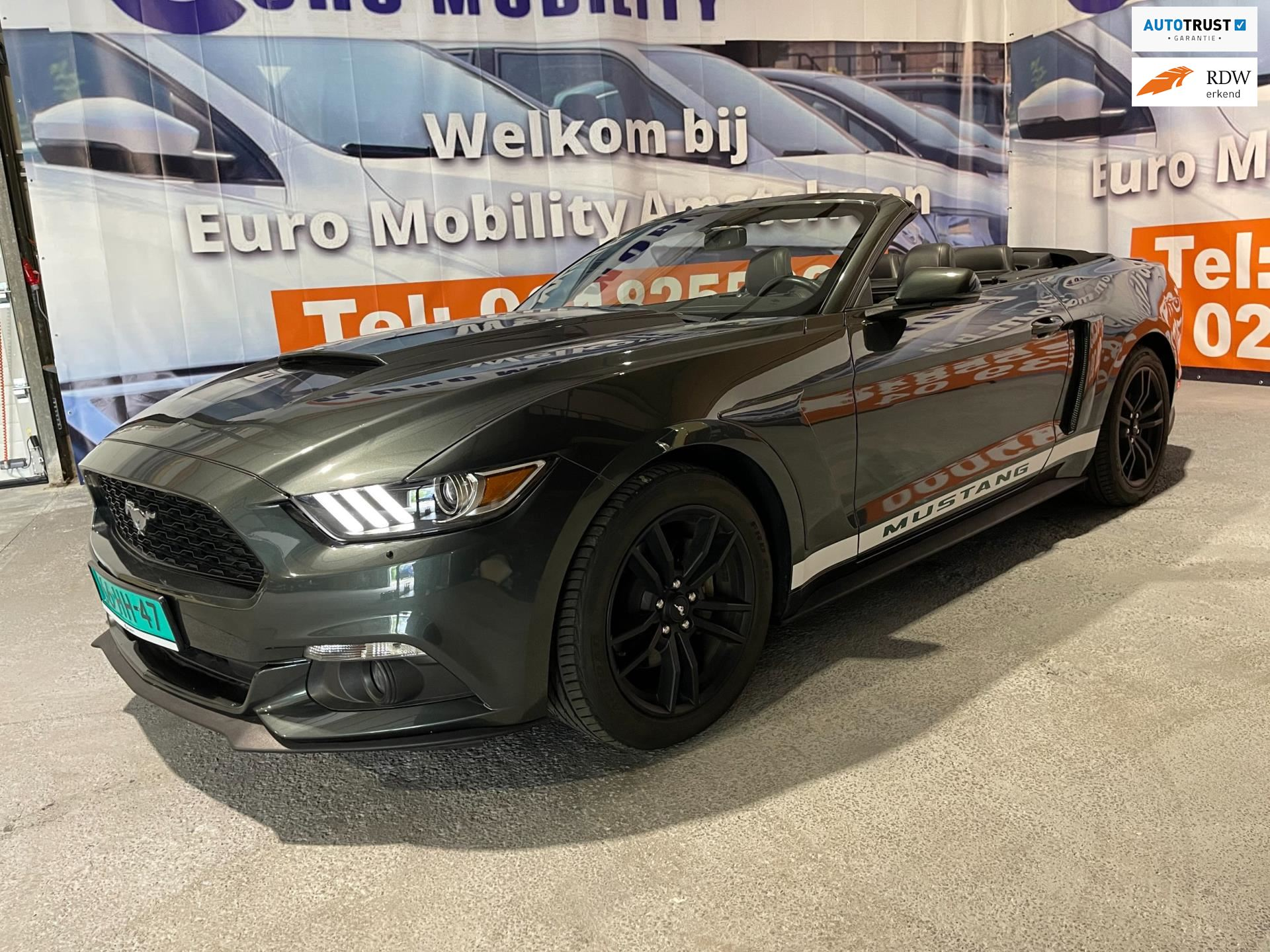 Ford Mustang Convertible occasion - Euro Mobility Amstelveen